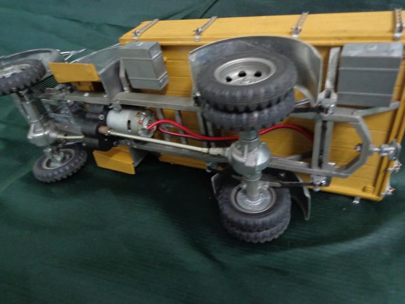 ASIATAM Modellbau - AT Wehrmachts- LKW 3 Tonner Metall 1:16 Allrad